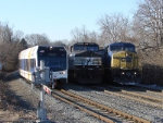 NJT 3515, NS 9295, & CSX 7848